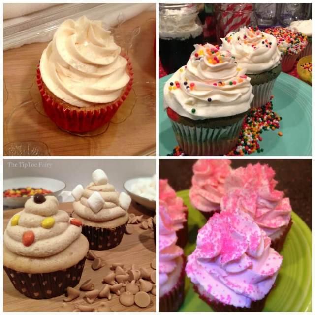 Basic White Cupcake