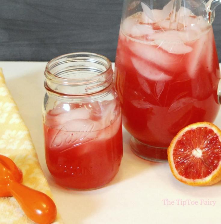 Perfectly Pink Blood Orangeade