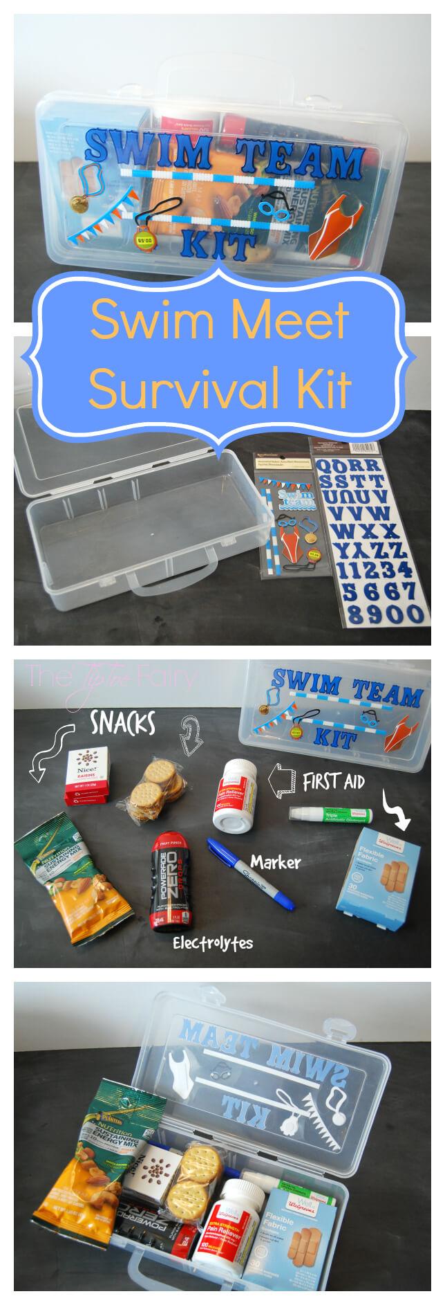 Got a Kid in Sports? Make a Sports Kit! Check this Swim Team Kit! | The TipToe Fairy #WellAtWalgreens #shop #swimteam #sportskit