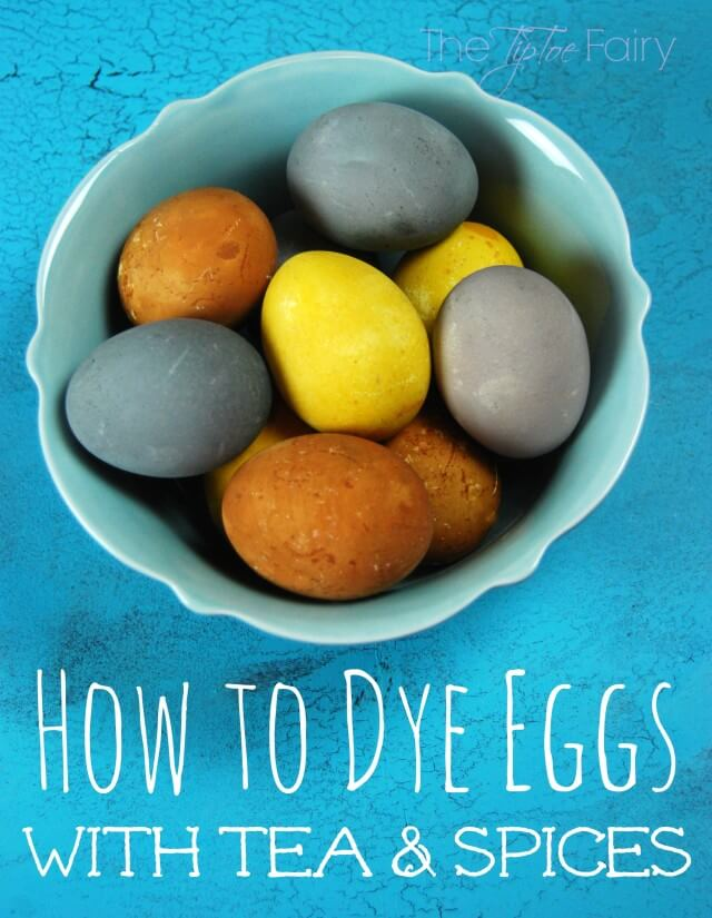 How to Dye Eggs with Tea & Spices