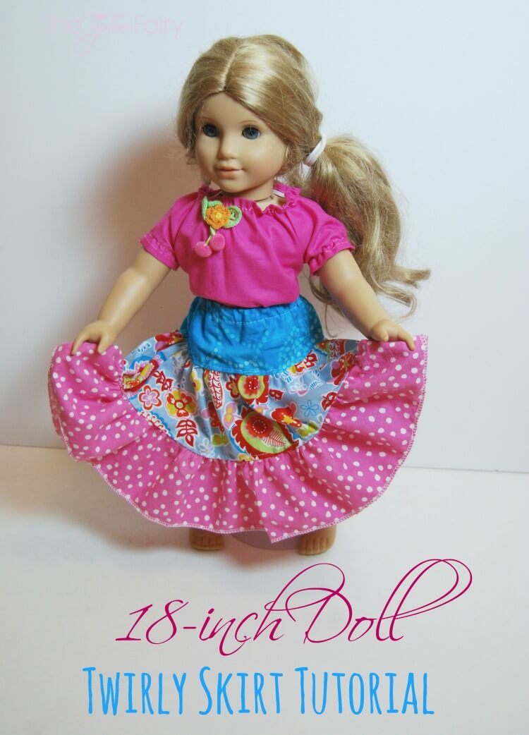 Make a Twirly Skirt for your Doll