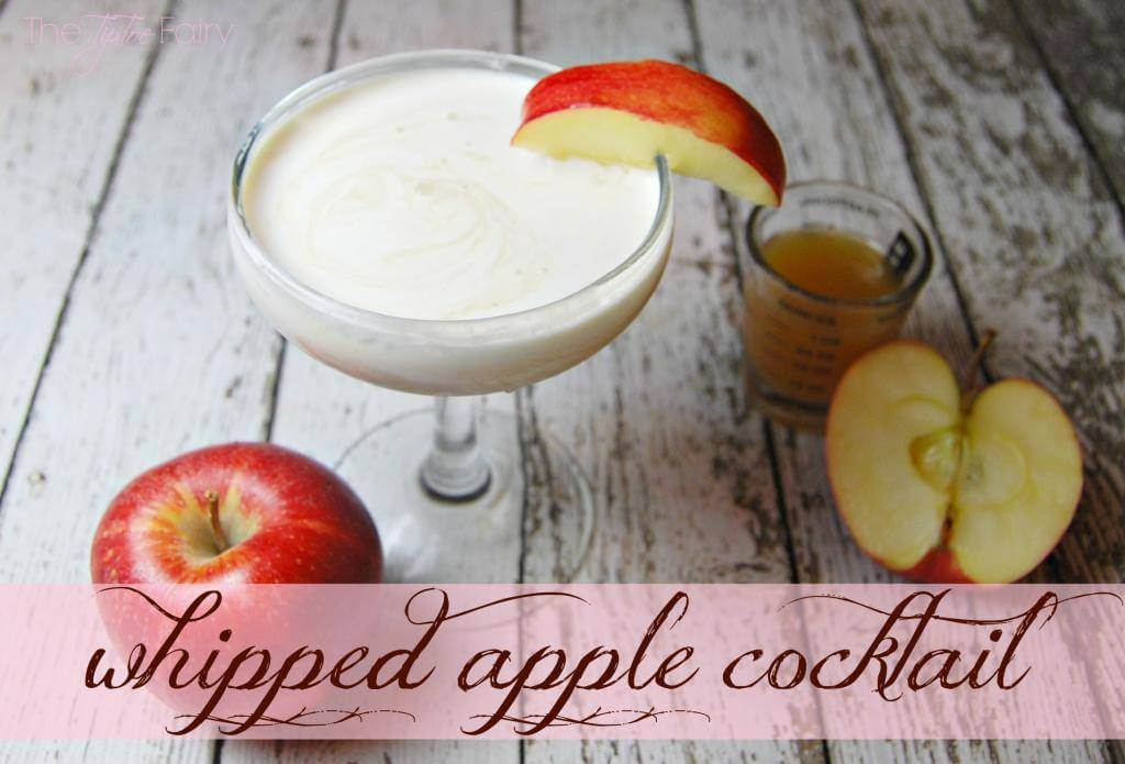 How to make a Whipped Apple Cocktail