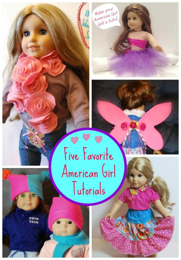 American Girl Tutorials for Clothes