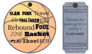 Basketball Brownie Cookies with Skittles - Dunk the Rainbow, Taste the Rainbow #SkittlesTourney #ad  The TipToe Fairy