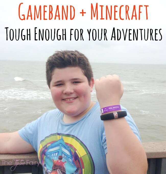 Gameband + Minecraft - Tough Enough For Your Adventures #Gameband   The TipToe Fairy