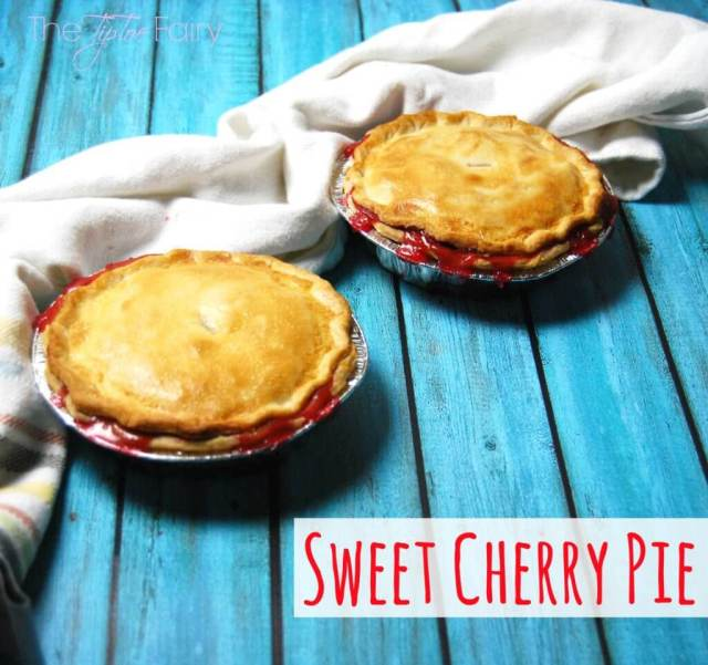 Sweet Cherry Pie with SPLENDA®.  Learn about SWEET SWAPS™ for less added sugar! #SweetSwaps #IC #ad   The TipToe Fairy