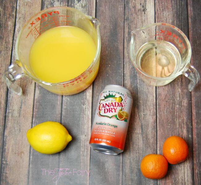 Mimosa Cocktail Slushies - simple and easy - #WaterOnlyBetter #ad | The TipToe Fairy