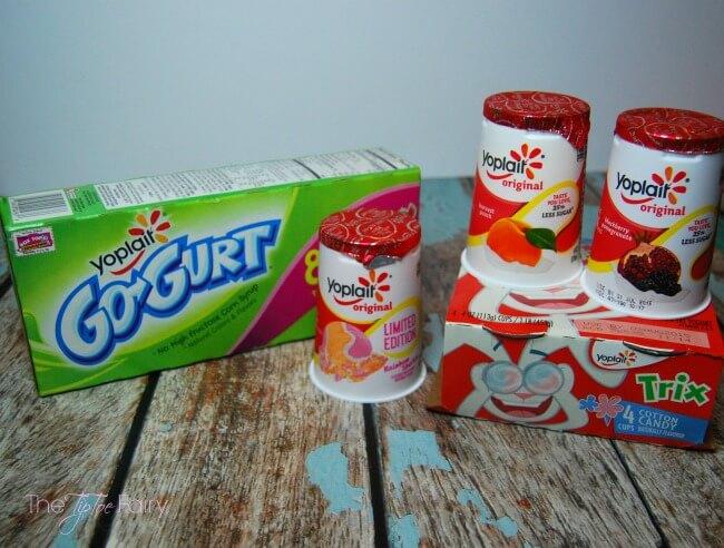 Yoplait® Cotton Candy Yogurt Smoothies #ad | The TipToe Fairy