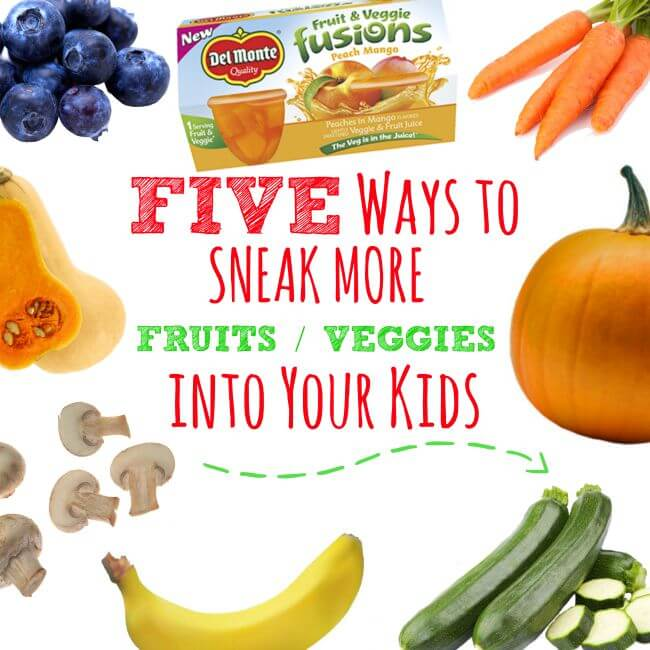FIVE Ways to Sneak Fruits & Veggies into Your Kids @delmonte #SharetheSuper #ad | The TipToe Fairy