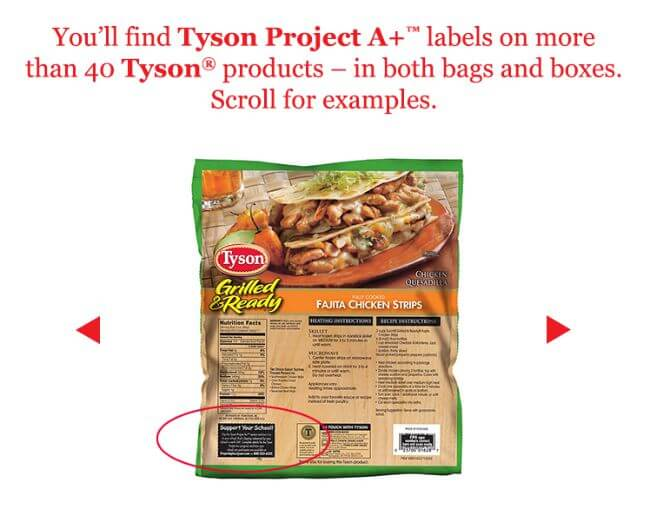 Nominate your school for $1000 in Tyson Project A+ Labels! #ad #TysonProjectAPlus @Tyson | The TipToe Fairy