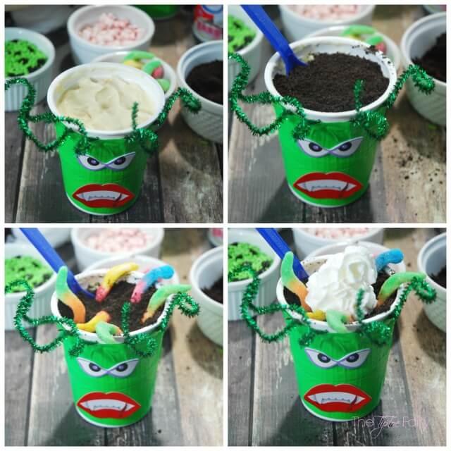 Halloween Go-Paks! Monster Treats - a fun party treat! | #ad #SnackAndGo The TipToe Fairy