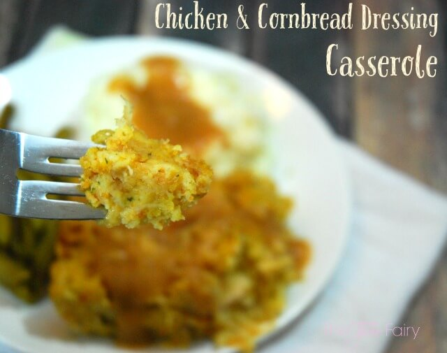 Chicken and Stuffing Casserole is simple to make