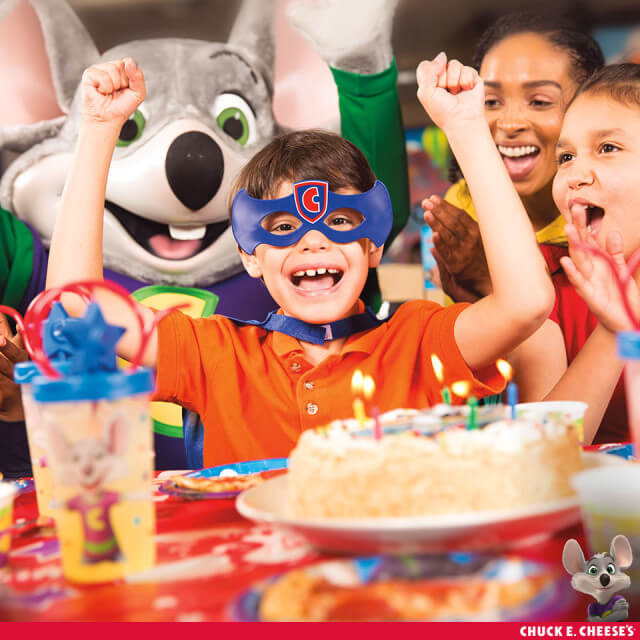 Chuck E. Cheese - the place for awesome birthdays where a kid can be a kid! #ad #chuckecheese @ChuckECheese| The TipToe Fairy