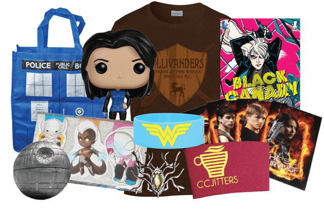 #Gift for the #geekgirl! Hurry & subscribe to the December Box! Come grab promo code @TheTipToeFairy!
