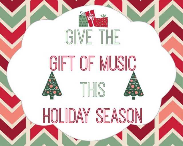 Give the Gift of Music with these Musical Gift Ideas for the #holidays! #ad #musicartsgifts | The TipToe Fairy