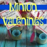 Easy Minion Valentines for Kids