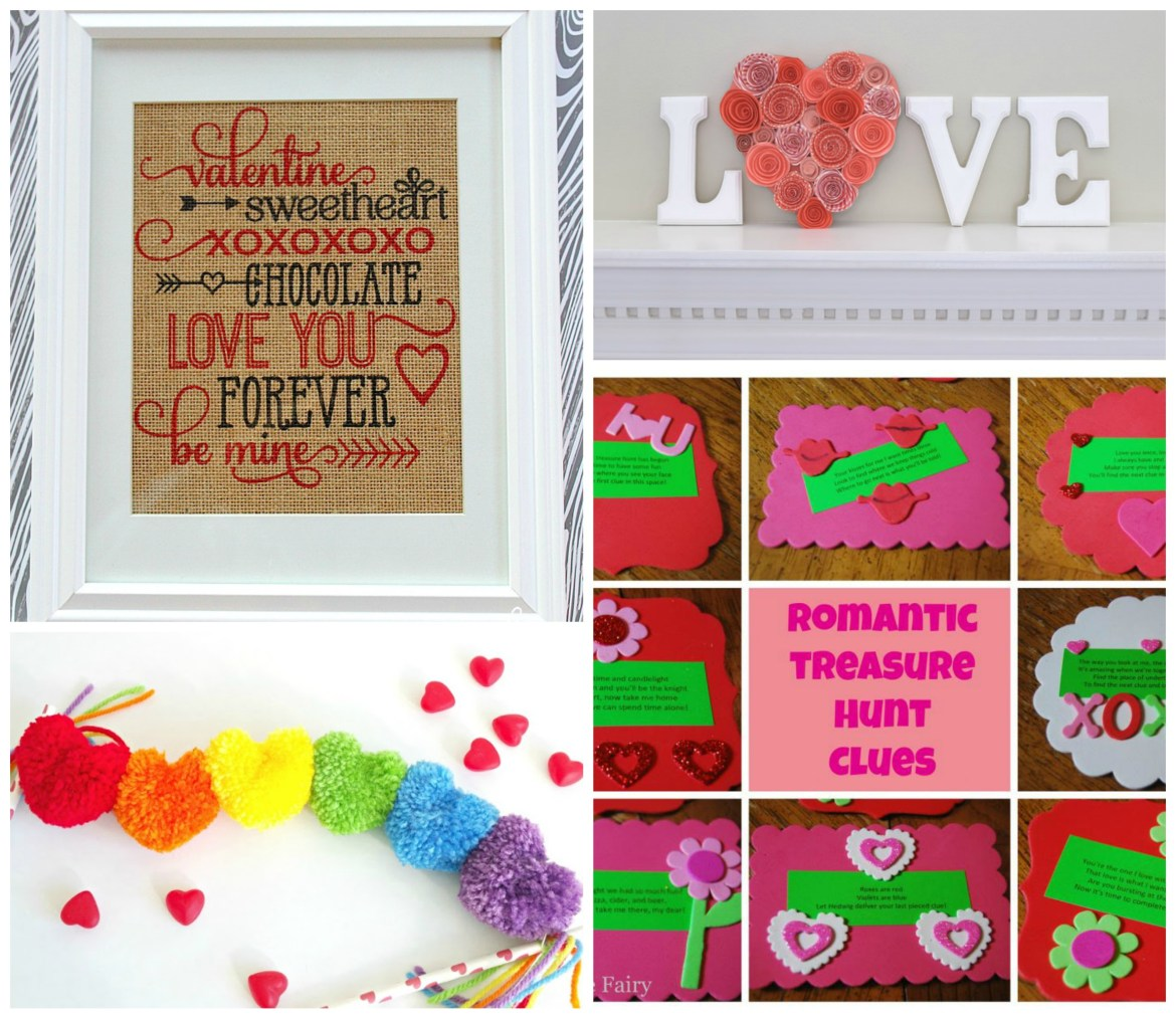 The Ultimate Valentine's Day Round Up! #recipe #diy #valentine