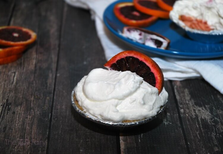 Blood Orange Pie - a perfect substitute for key lime #pie #SundaySupper #dessert