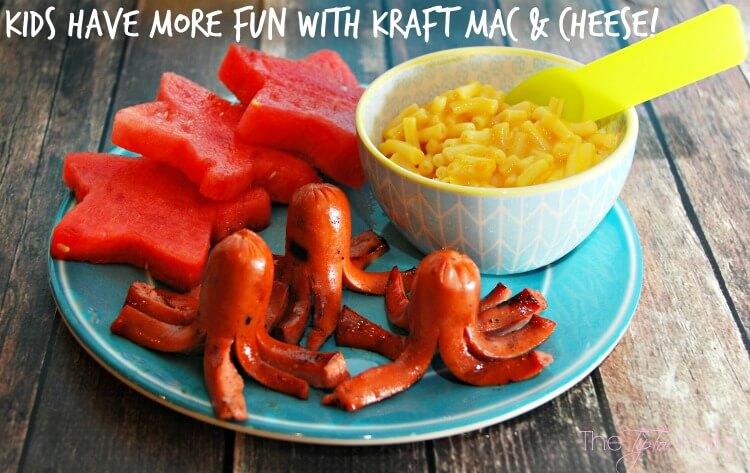 Have Fun w Kraft Mac & Cheese and Octadogs! #didntnotice #CG #ad #kids