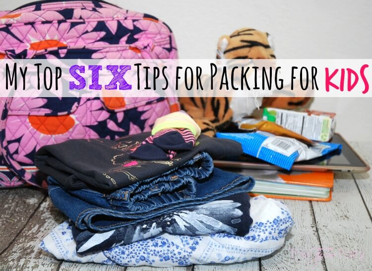 SIX #Packing Tips for kids & enter to win $50 gc to @OshKoshBgosh! AD #BreakForSpring #OshKoshKid