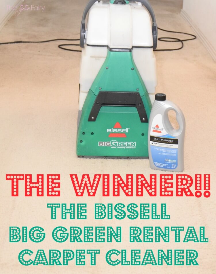 The BISSELL Big Green outperformed the Rug Doctor – look at the amazing results! #Ad #bissellclean