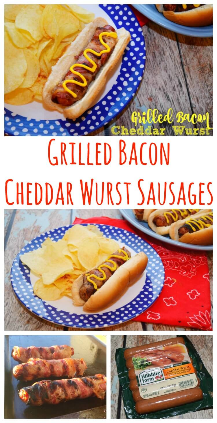 #GrillLegendary this season with Bacon-Wrapped Cheddar Wursts! #ad #food #yum