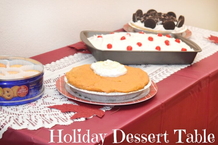 Find all you need for your #holiday dessert table at @DollarGeneral! #ad #recipe #pie