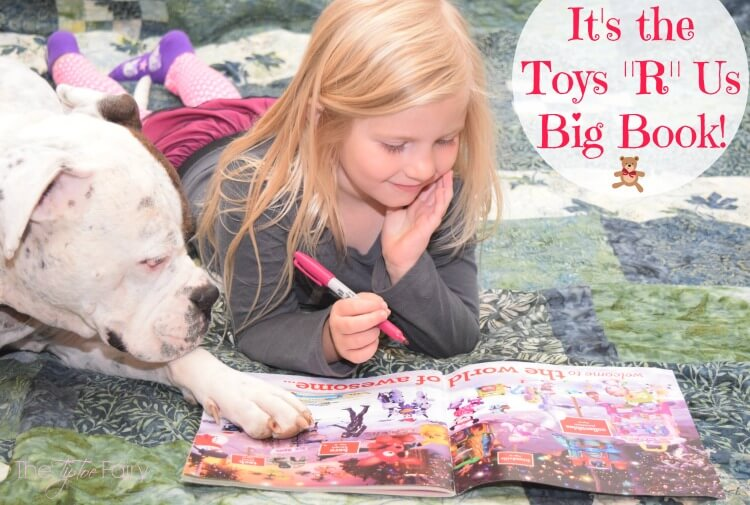 Molly can't wait to pick out toys for her Wish List. Holidays are coming fast! #ad #AwesomeMoments