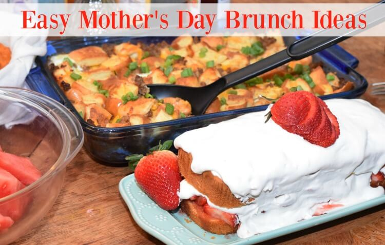 Easy Mother's Day Brunch Ideas w/Walmart that are simple to make! #ad #TysonlovesMom @TysonFoods #Sweepstakes
