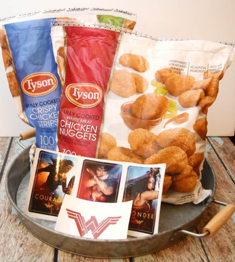 Make your kids a fave lunch this summer with @ClubTyson Chicken Nuggets & Cream Gravy! #WonderWomanAtSamsClub #ad @!SheSpeaksUp