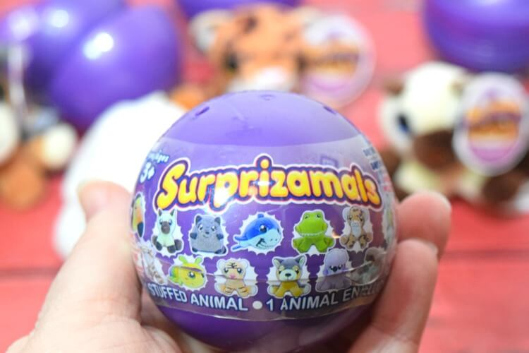 Need a cute stocking stuffer for the kids? Check out Surprizamals! Adorable little plushies! #ad