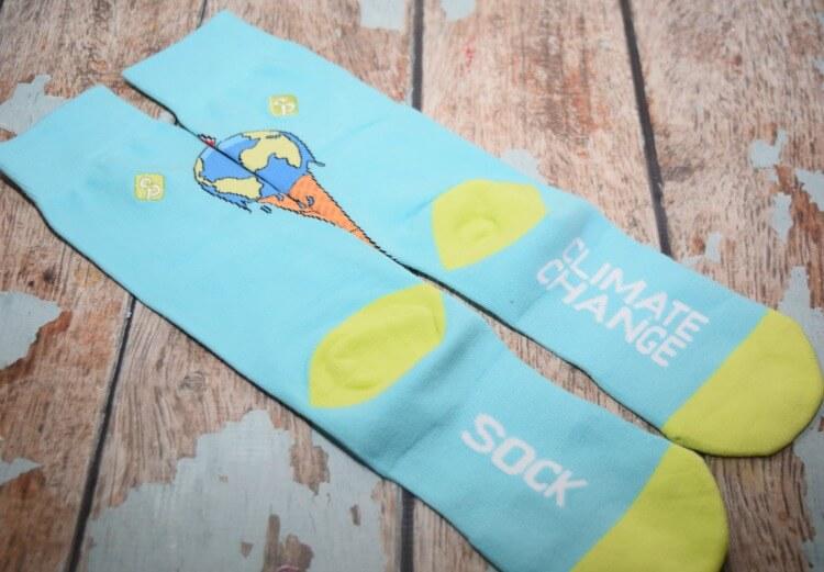 Climate Change Sock Problems socks!