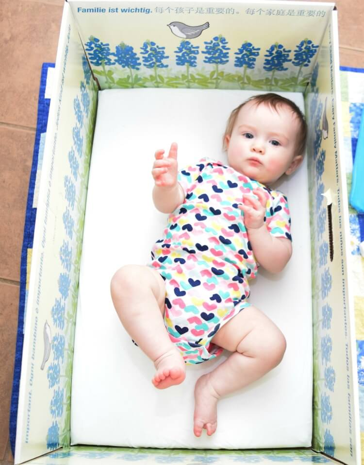 Get a FREE Baby Box - the perfect place for your baby to sleep from @TheBabyBoxCo!