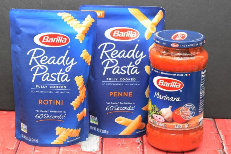 Barilla Ready Pasta is ready in just 60 seconds!