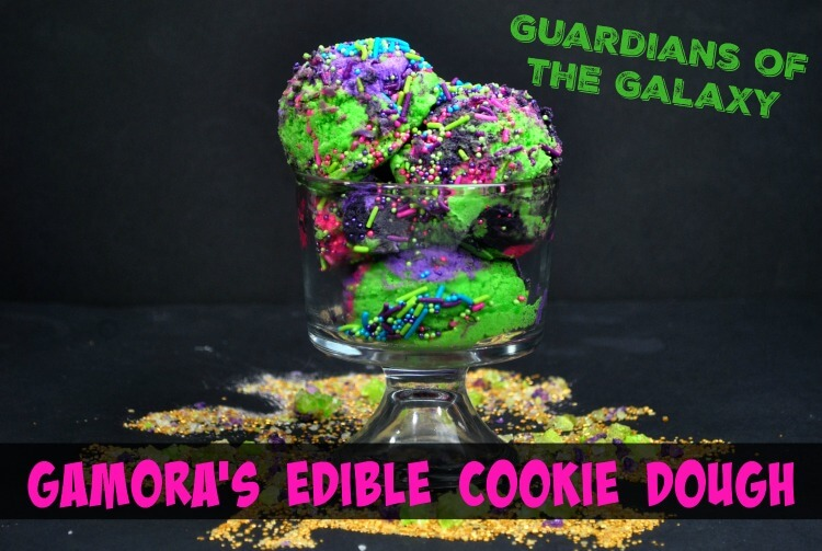 Guardians of the Galaxy Edible Cookie Dough is the perfect snack for an Avengers movie-watching party!