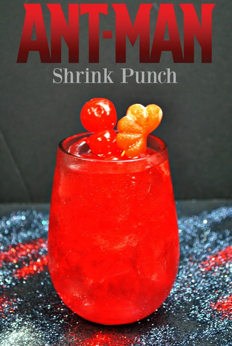 Try this fun drink ANT-MAN Shrinking Punch - perfect for the kids!