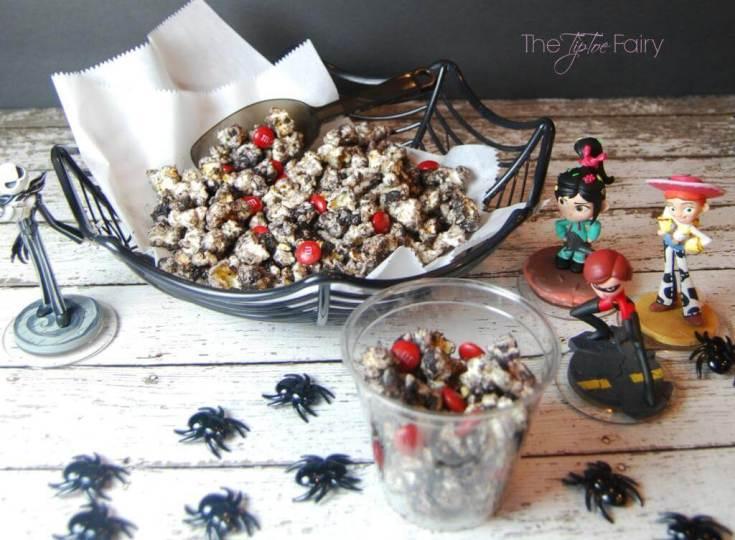 Black Widow Popcorn Treat