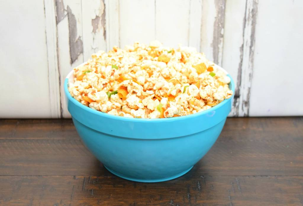 Make some Chili Pie Popcorn