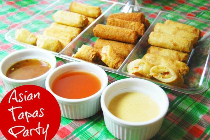 Four Asian Dipping Sauces