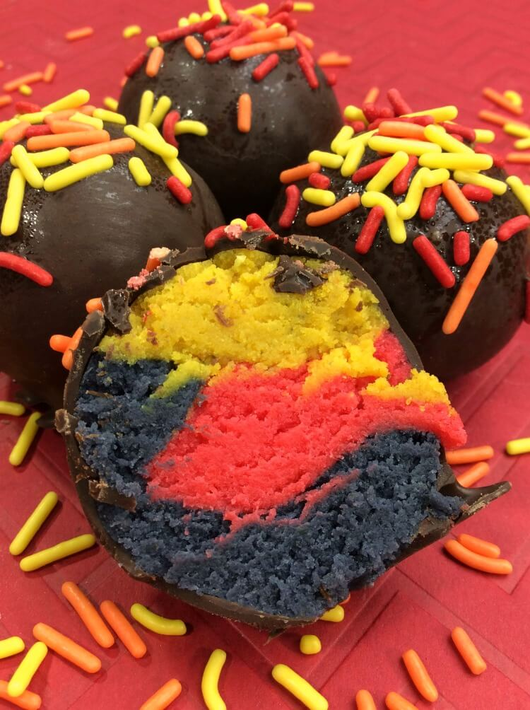 Get ready for The Incredibles 2 with these delicious themed cake balls.