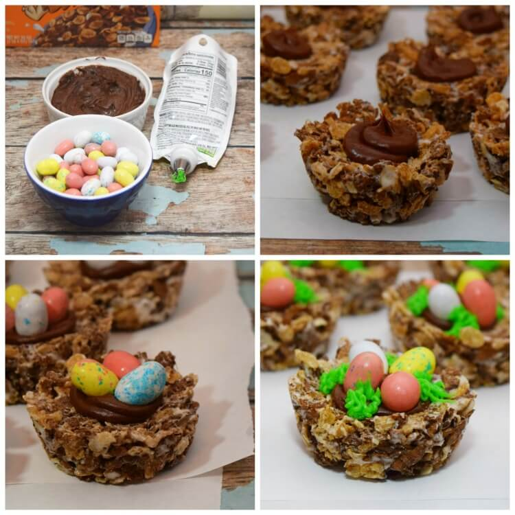 How to decorate Dinosaur Egg Nests
