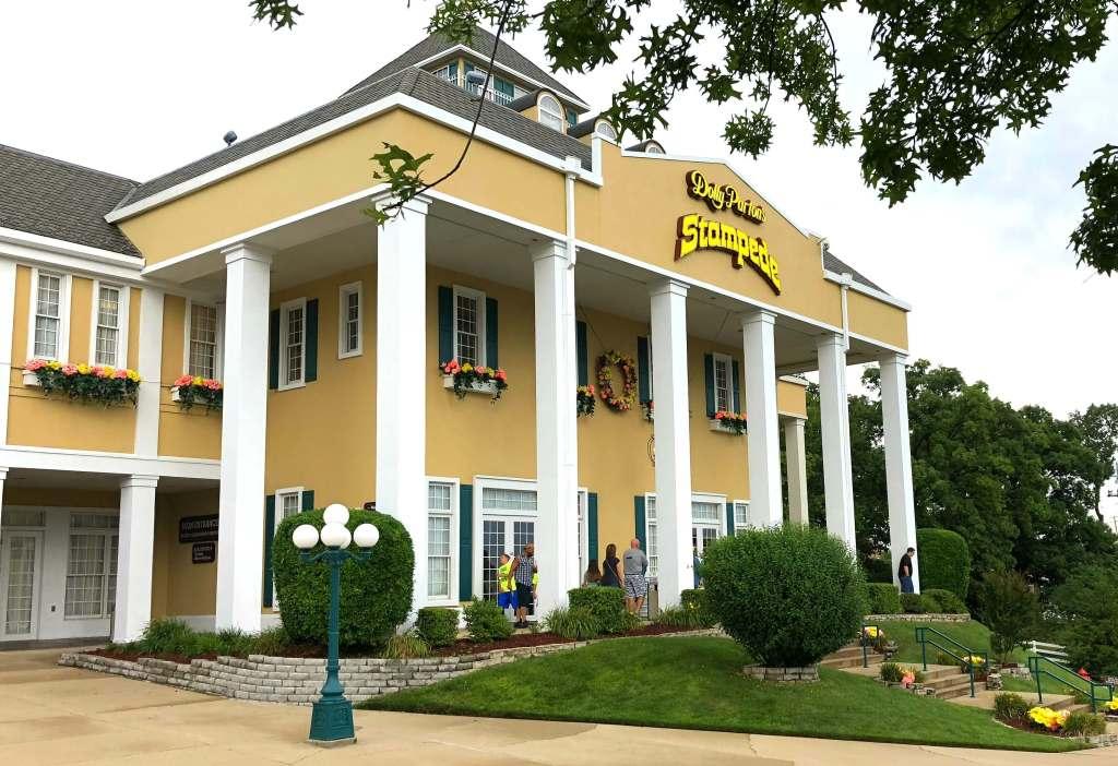 Dolly Parton's Stampede dinner show in Branson, Missouri