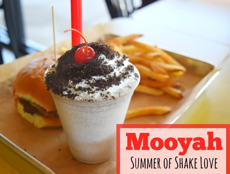 Mooyah Summer of Shake Love