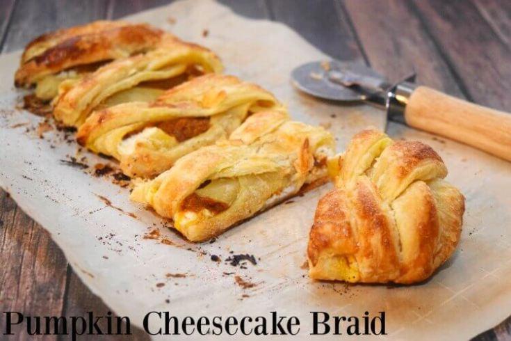 Pumpkin Cheesecake Braid
