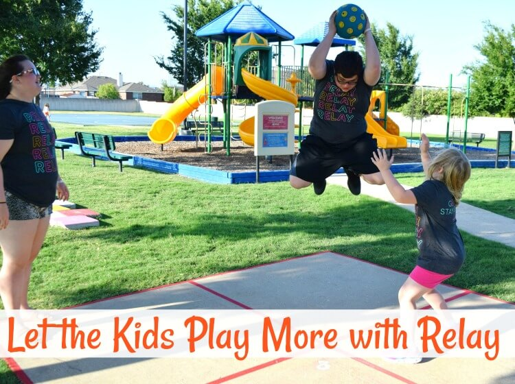 Let the Kids Play More with Relay