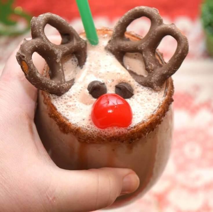 Rudolph the Red-Nosed Reindeer Milkshake