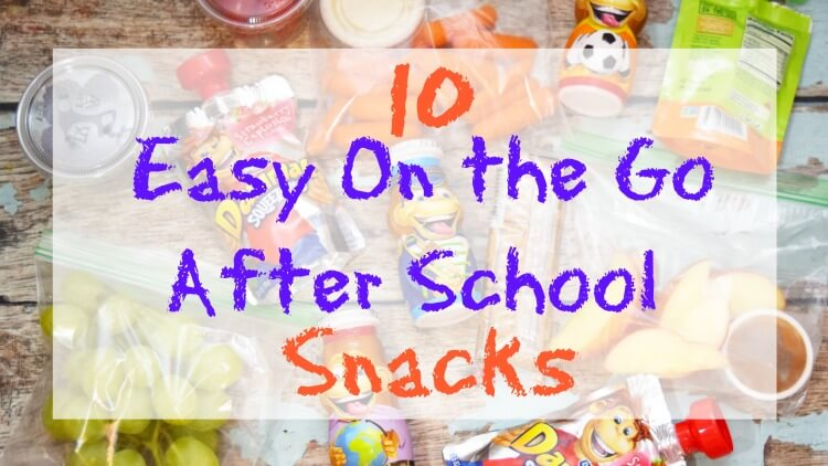 10 Easy On the Go After School Snacks