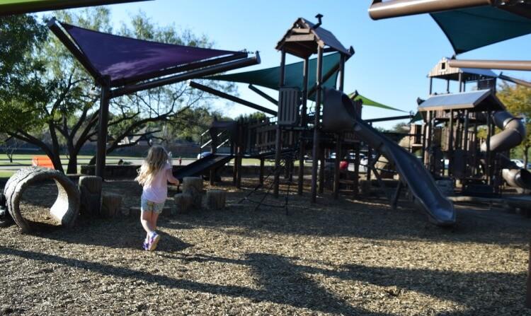 Running around the Inclusive Playground