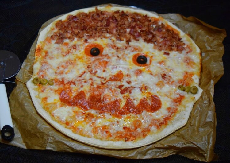 Frankenstein Pizza from Mr. Gatti's Pizza