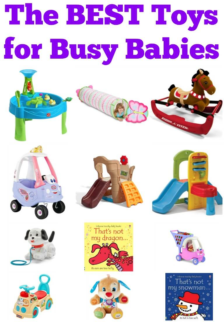 The BEST Toys for Busy Babies